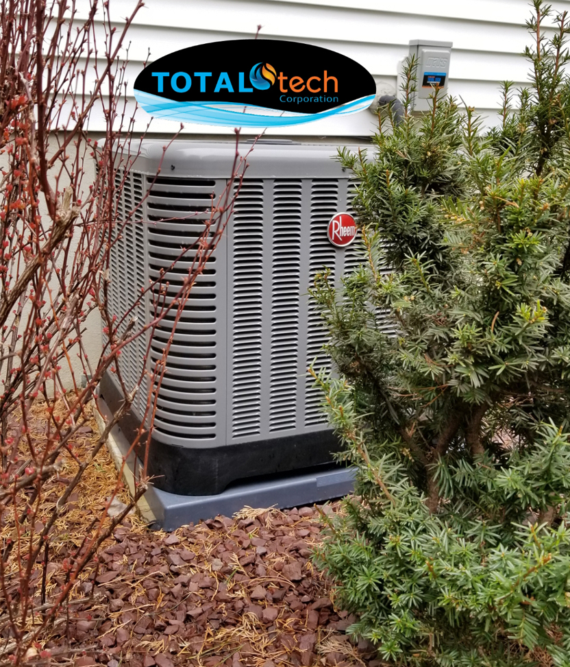 Total Tech Logo by HVAC system