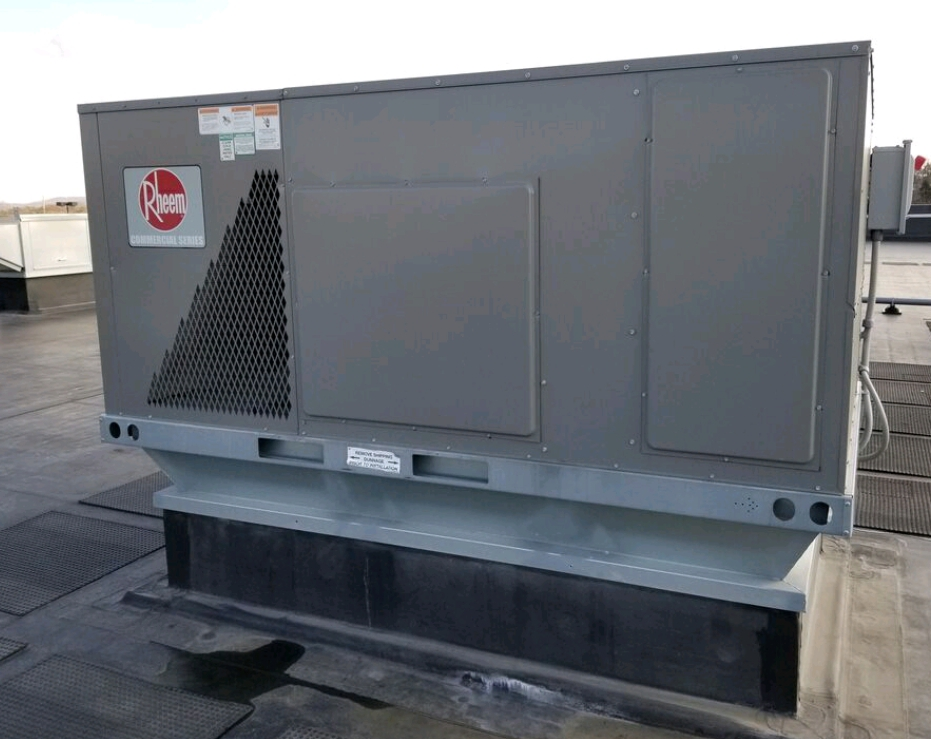 rooftop HVAC box