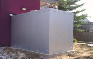 Walk-In HVAC box